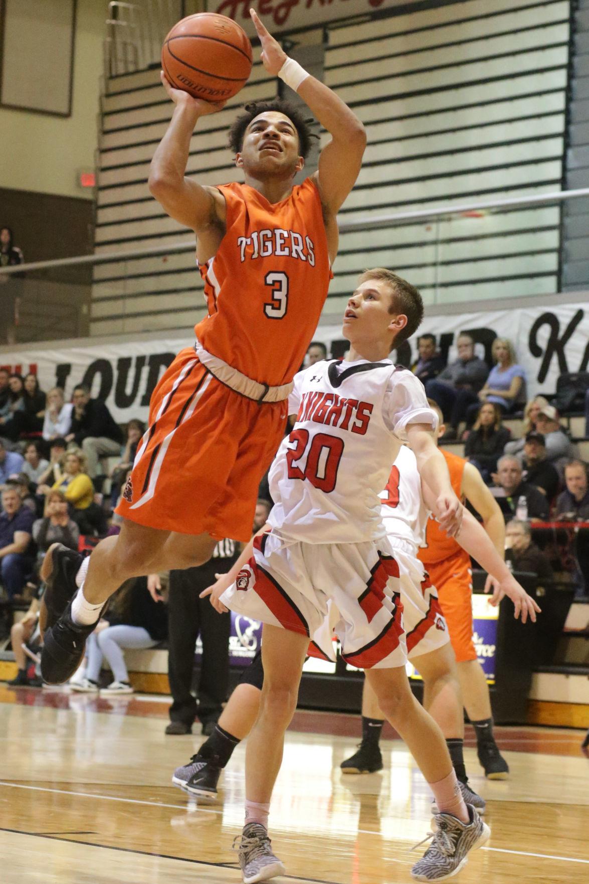 Hillcrest vs Idaho Falls boys basketball