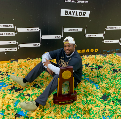 After capturing national title, Baylor assistant Alvin Brooks III remembers playing days at Idaho State