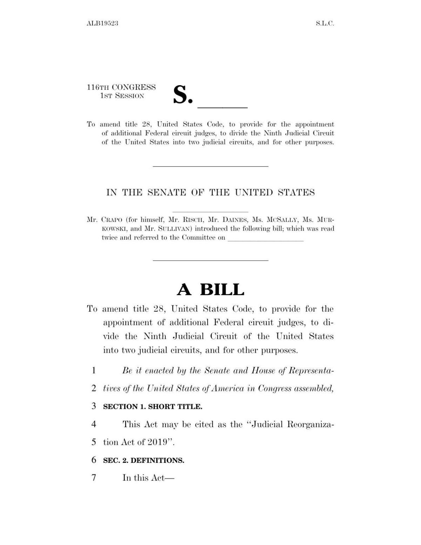 Ninth Circuit bill