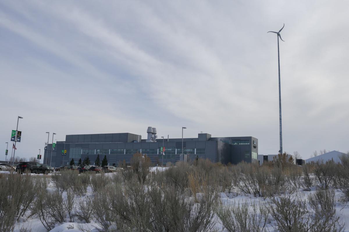CAES wind turbine