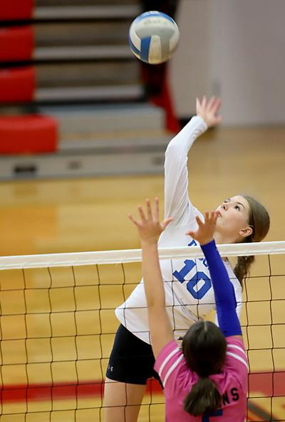 Sugar-Salem volleyball