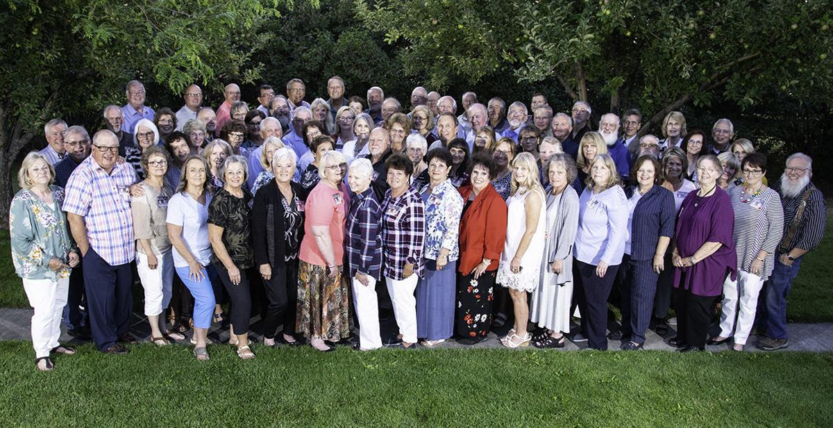 RHS Class of '69 reunites after donating $8,000 to new graduates