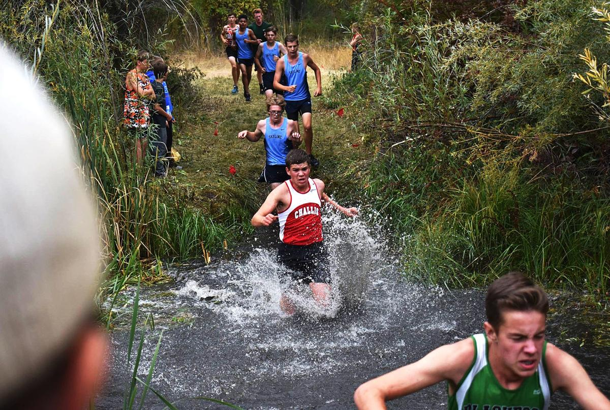 Challis cross country hosts 7 teams