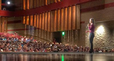 Aussie inspirational speaker visits Rigby, Ririe (Fitzsimons)