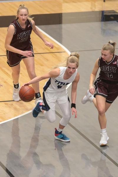Thunder Ridge vs Rigby girls basketball