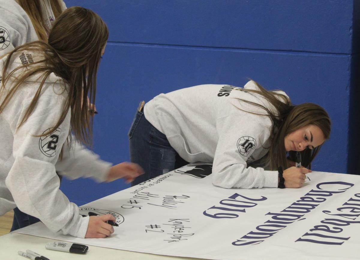 Firth High School raises championship banner