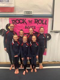 Mighty Tucks earn 49 medals at Rock N' Roll gymnastics meet