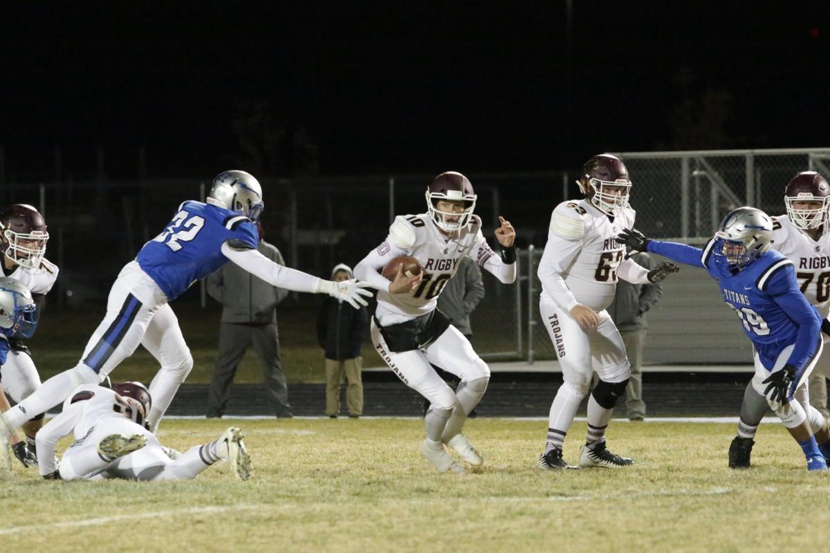 Thunder Ridge vs Rigby football