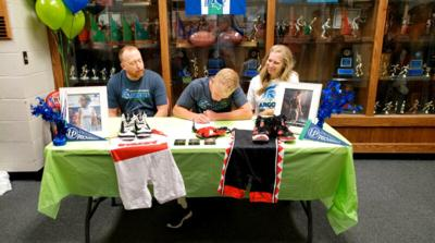 Kolton Stacey signs letter of intent
