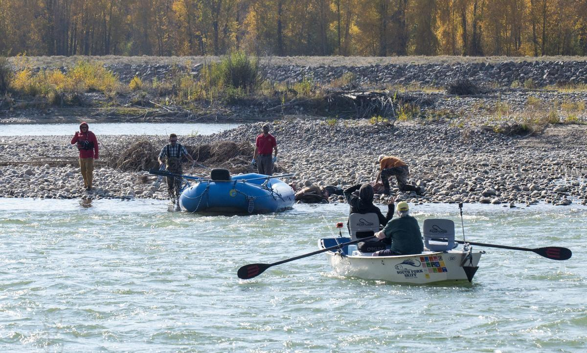 fishermen and elk