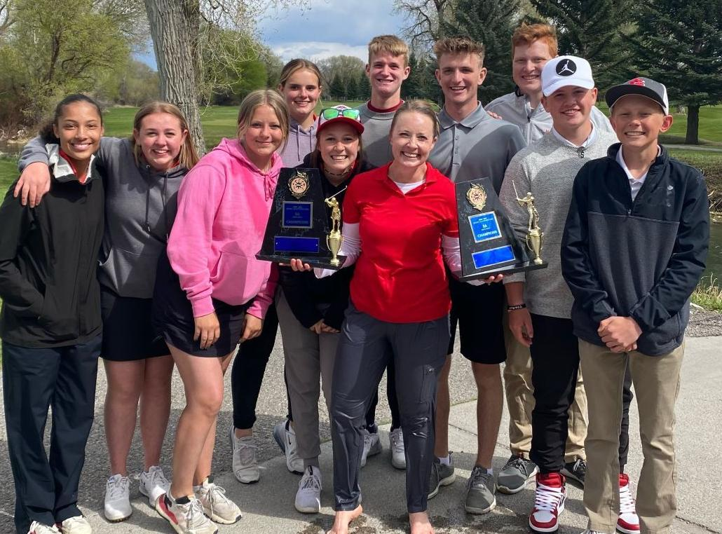 DISTRICT ROUNDUP: Golf and tennis teams crown champs