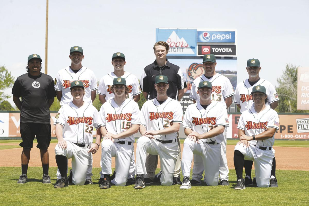 Back together: A dozen members of Boise State's discontinued baseball team enjoying 'emotional' reunion with Boise Hawks (copy)