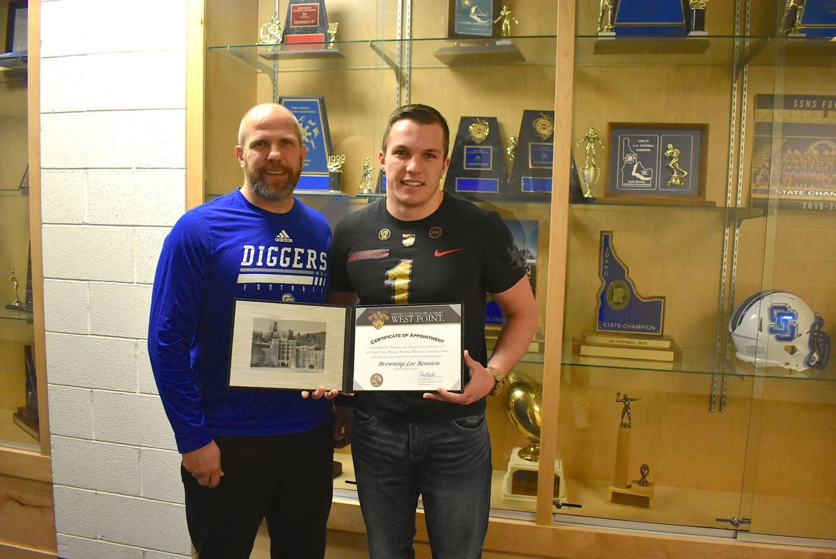 Sugar-Salem's Bennion honored by National Football Foundation