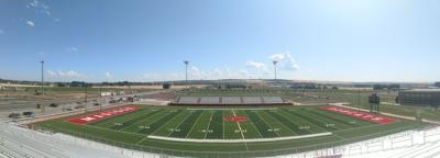 Madison is putting the final touches on their stadium before inaugural use on Friday, August 30.