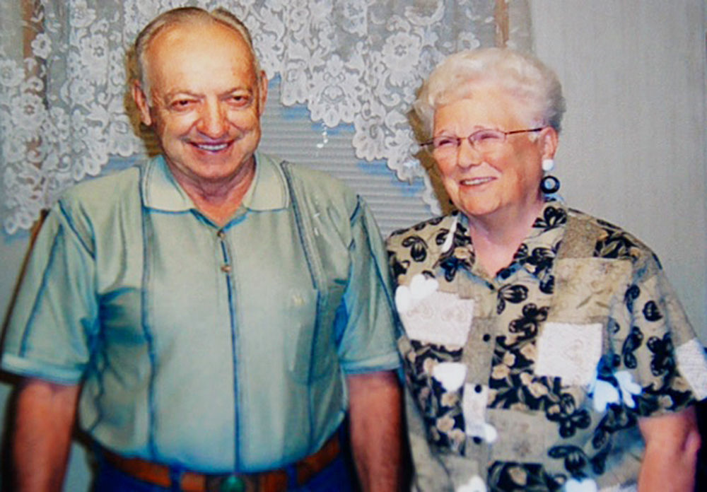 Hunts celebrate 70 years of marriage
