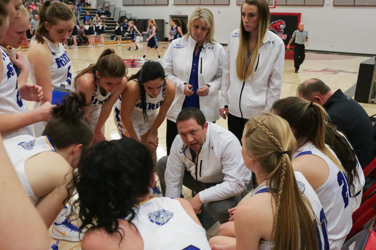 2A District 6 girls basketball championship game