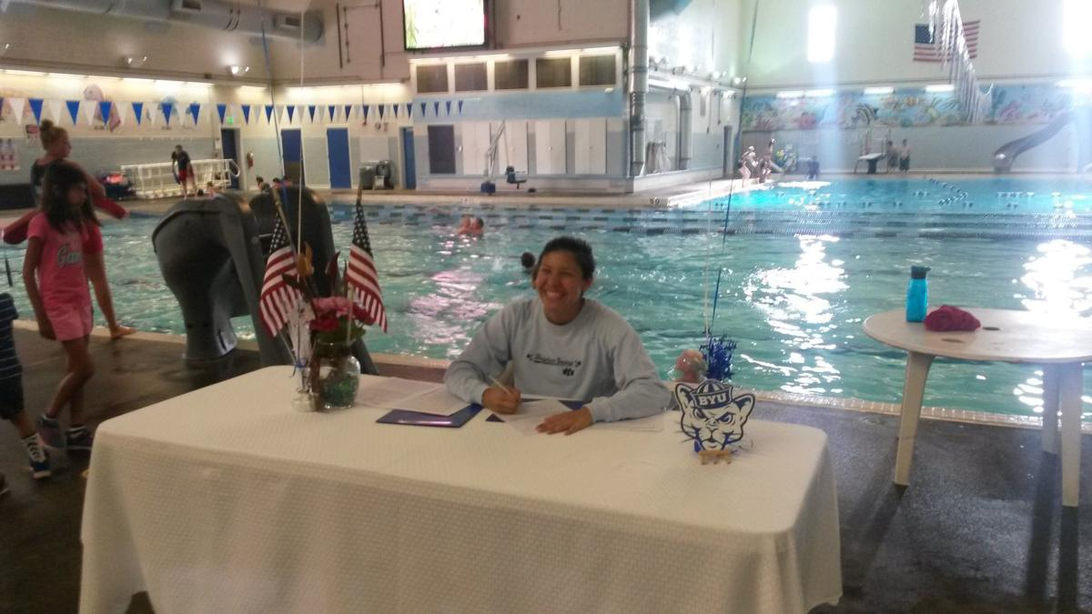 Madison grad Ibanez signs with BYU swimming
