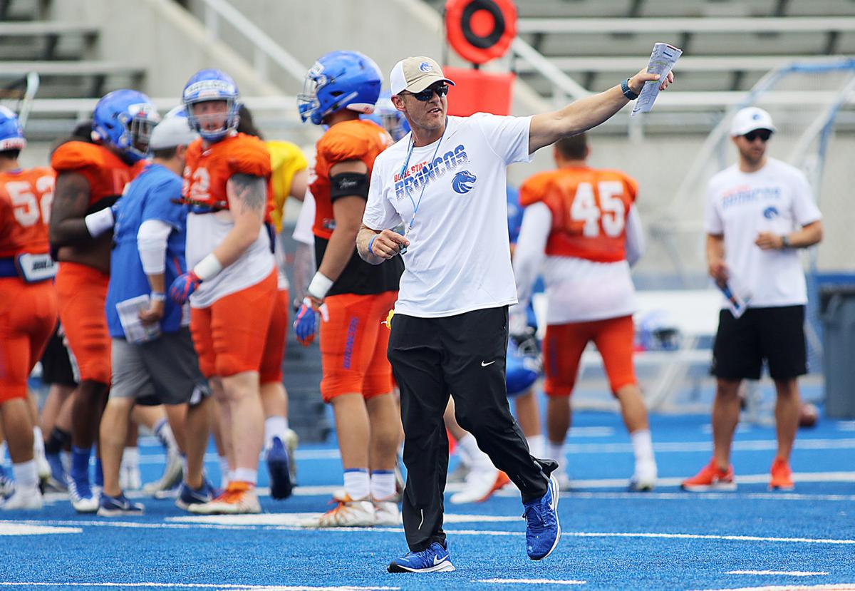 Boise State football suspends spring practices after Mountain West decision