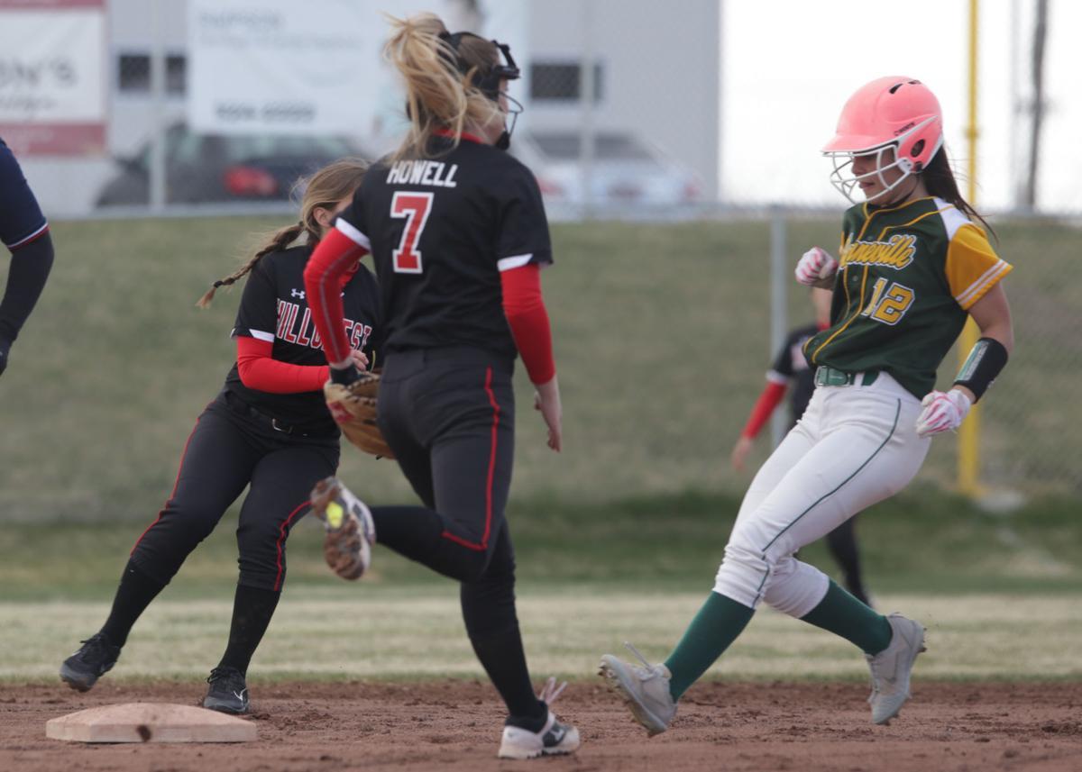 Bonneville vs Hillcrest softball