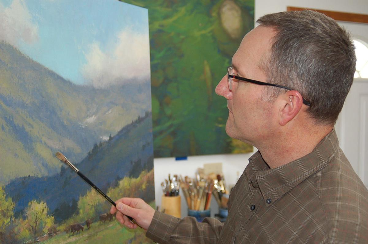 Local artist's works featured in new temple