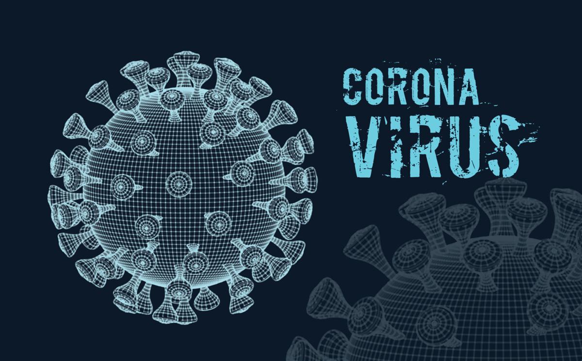 single blue virus