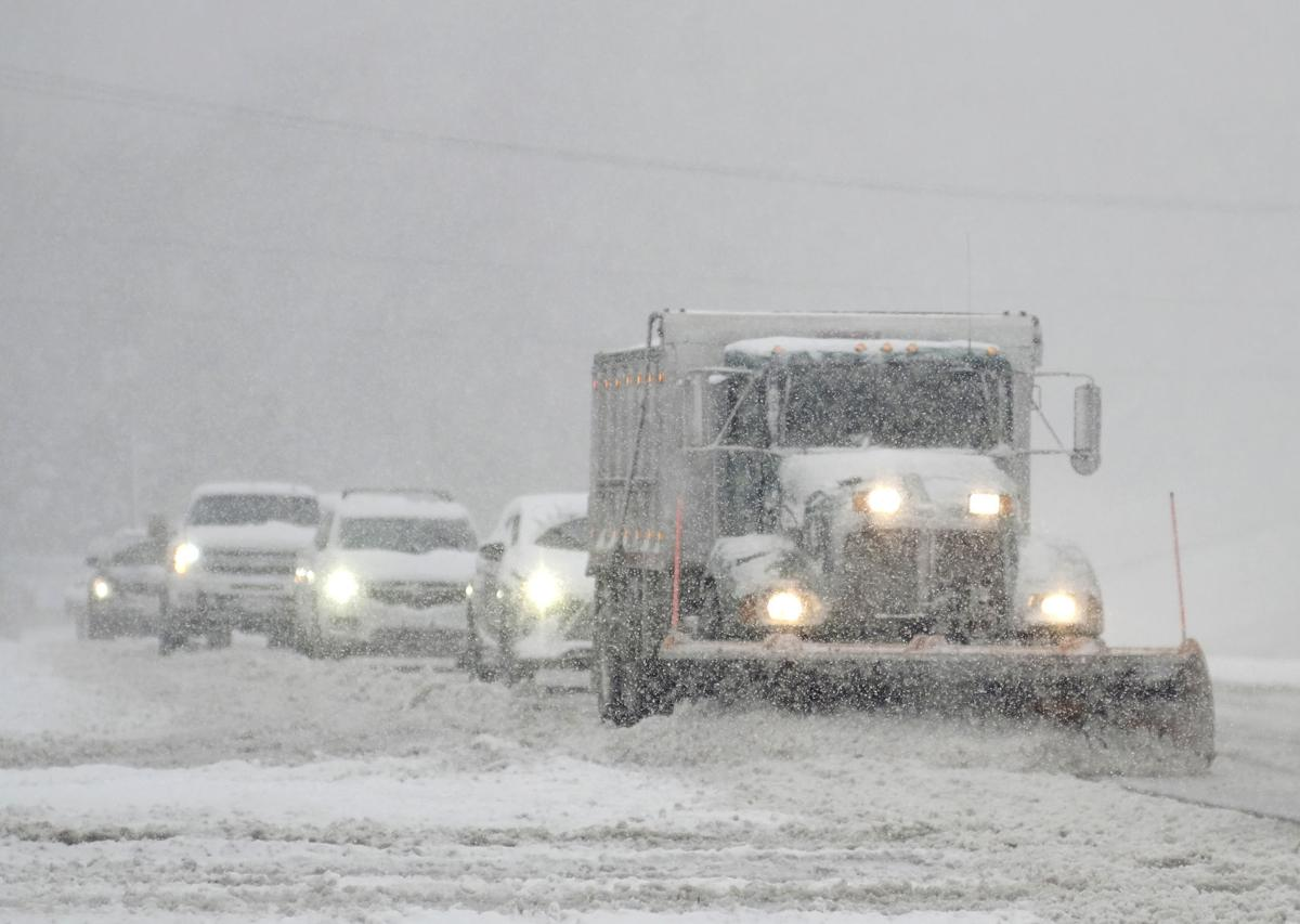 Winter storm causes icy roads across swath of South