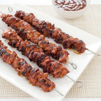 Food Column ATK Barbecued Chicken Kebabs