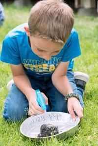Salmon kids get hands on with nature at eclectic summer camp