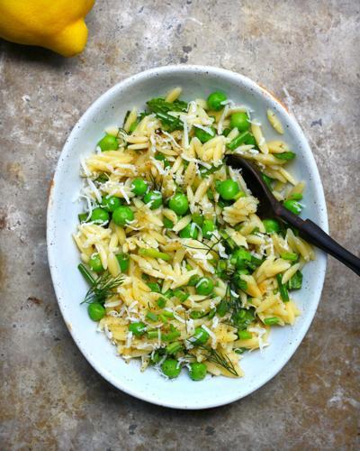 Pea and Orzo Salad