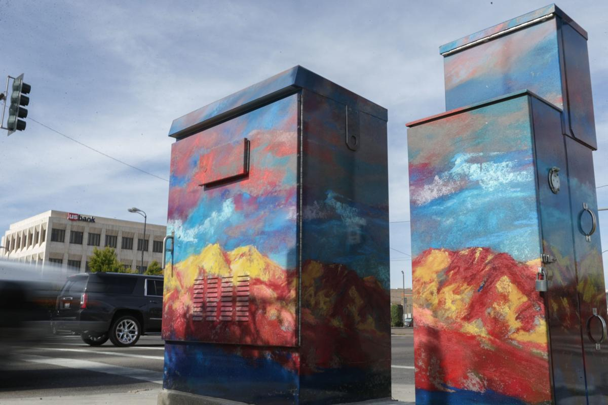 traffic cabinet art