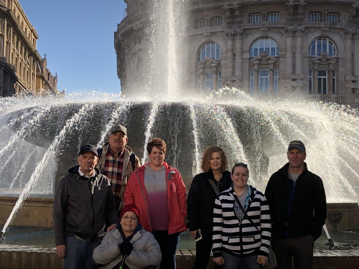 Dubois family enjoys Mediterranean Cruise