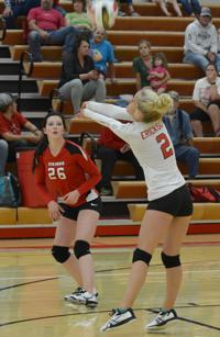 Challis spikers split last week's matches