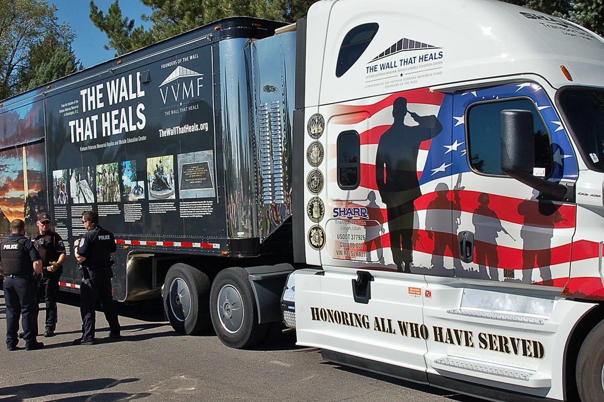 Wall That Heals truck