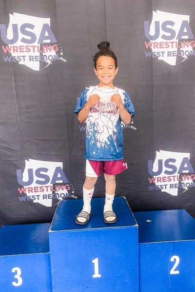 Eli Armstrong youth wrestling