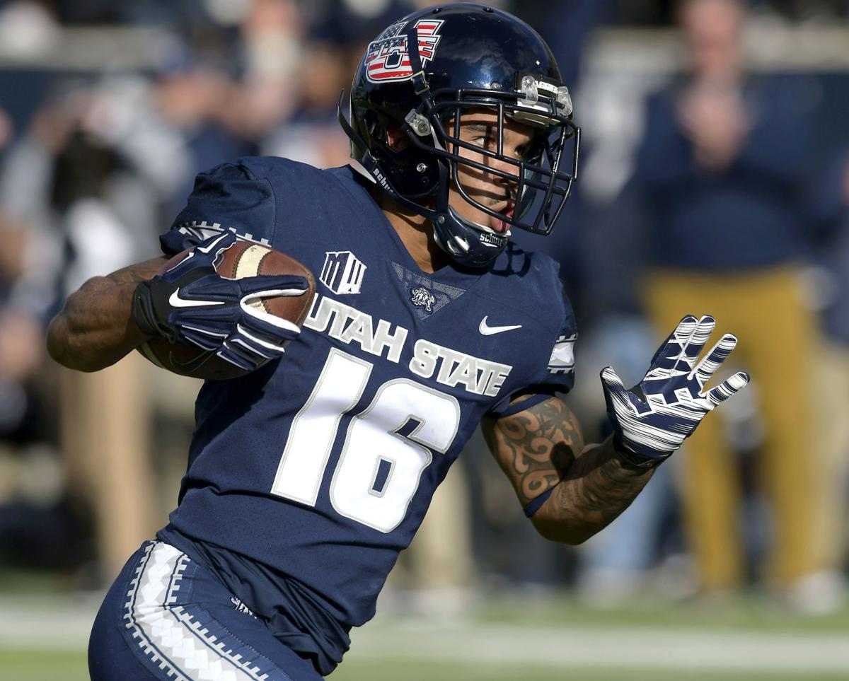 Utah State wideouts hungry to fill big shoes