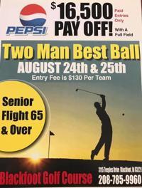 Pepsi Two Man golf tourney coming