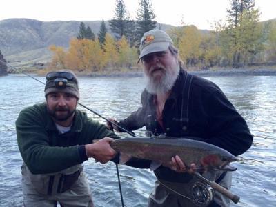 Steve Brown fishing