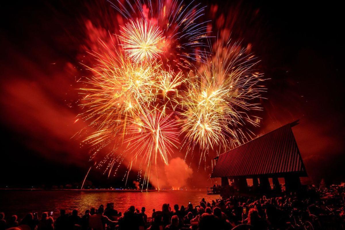 Bingham Healthcare, ICCU team up for drone, fireworks show