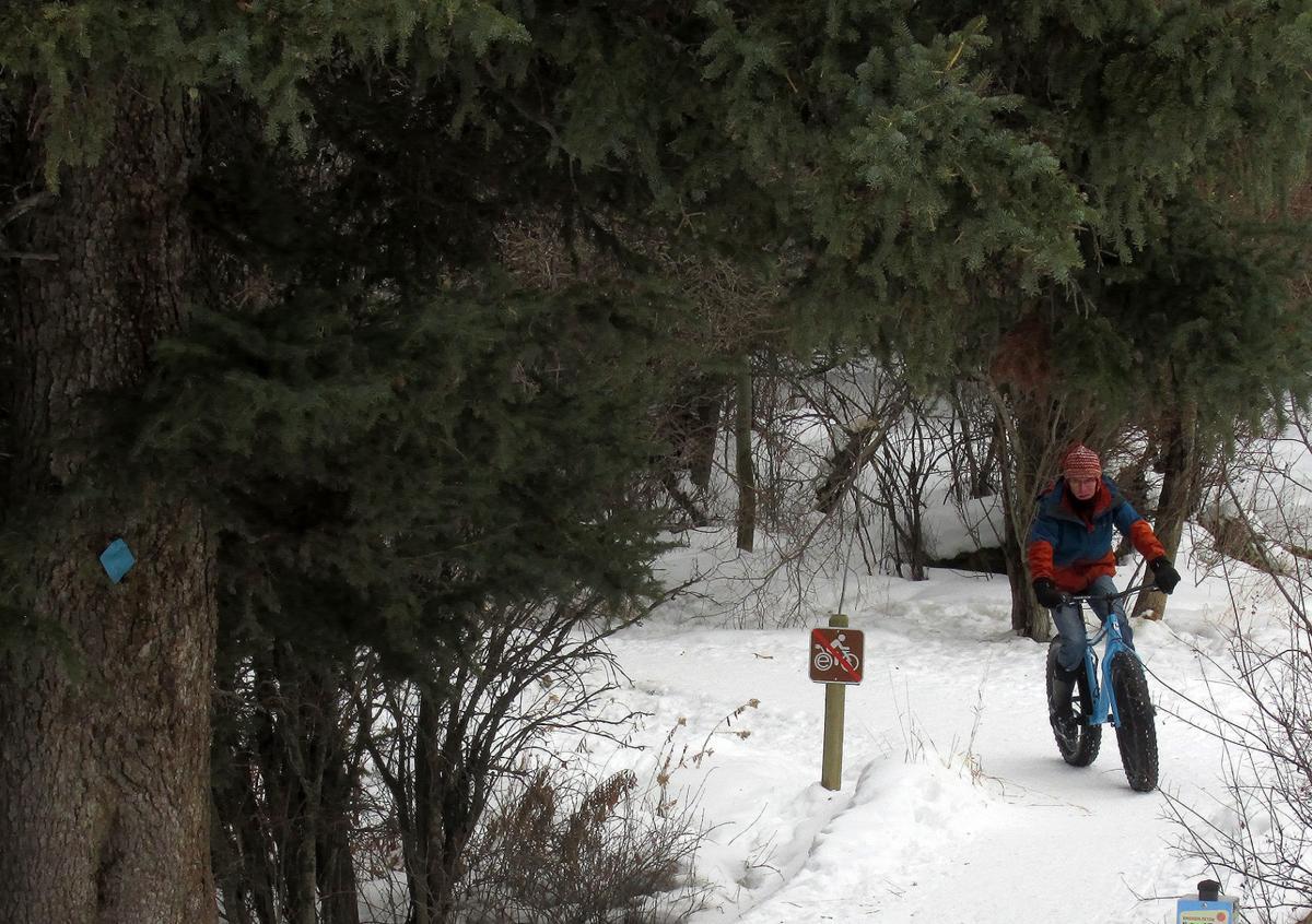 cache creek biking