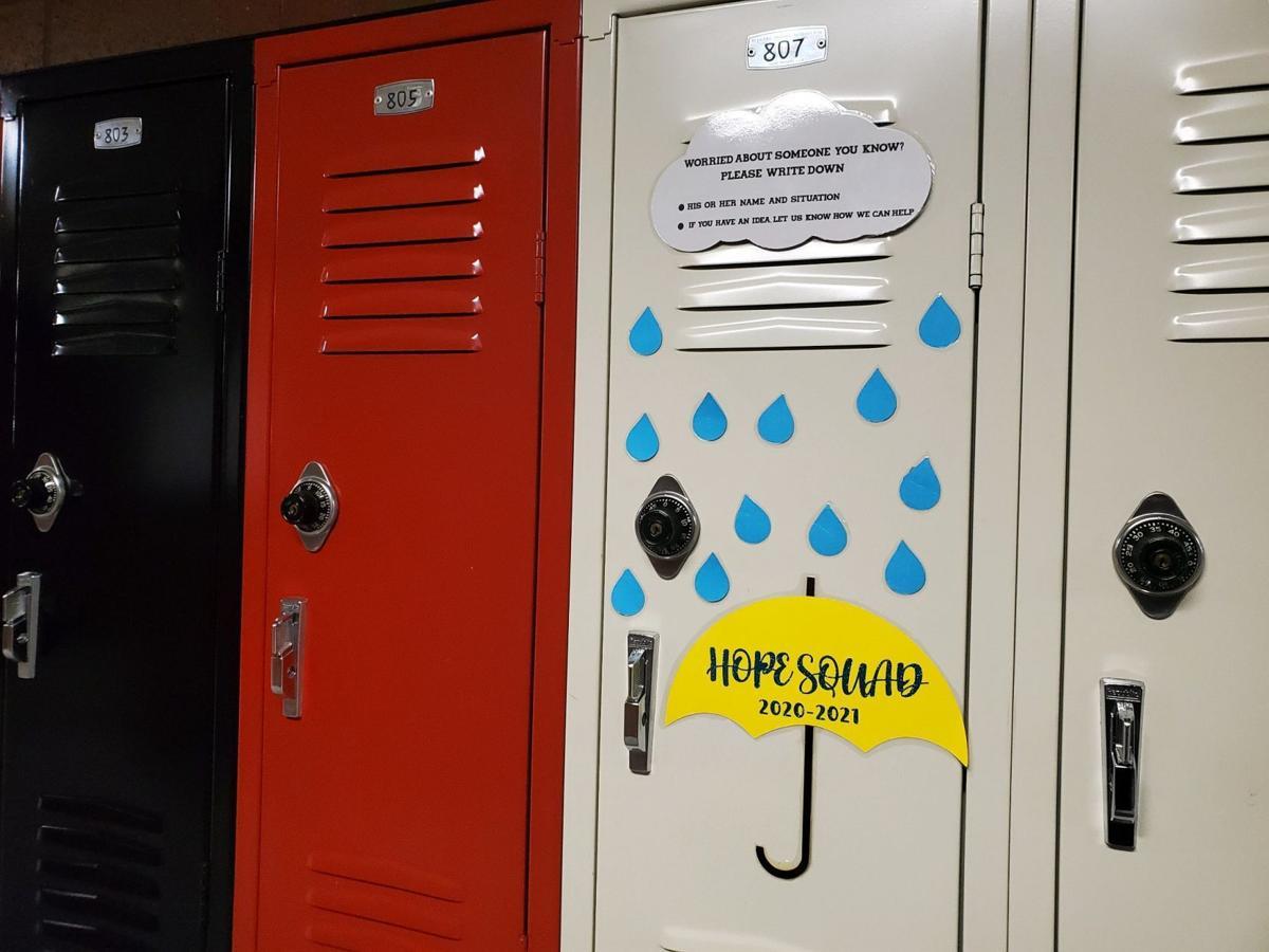 Hope Squad locker