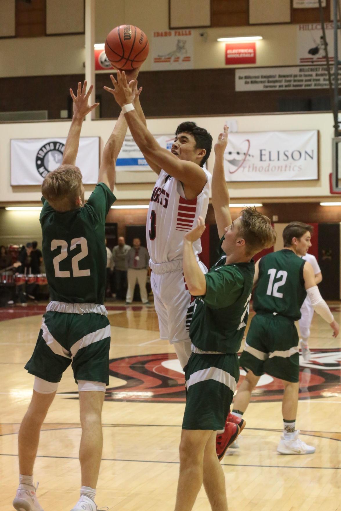 Hillcrest vs Bonneville boys basketball