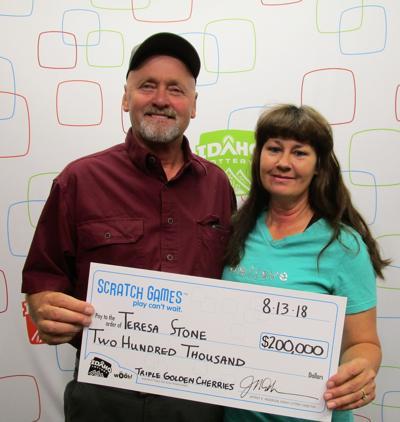 lottery winner stone