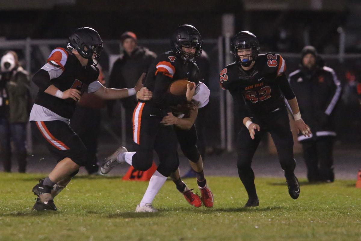 Idaho Falls shuts out Shelley 35-0