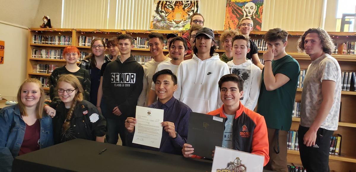 Idaho Falls' Demetri Fried-Ochoa signs to play soccer at Dordt College
