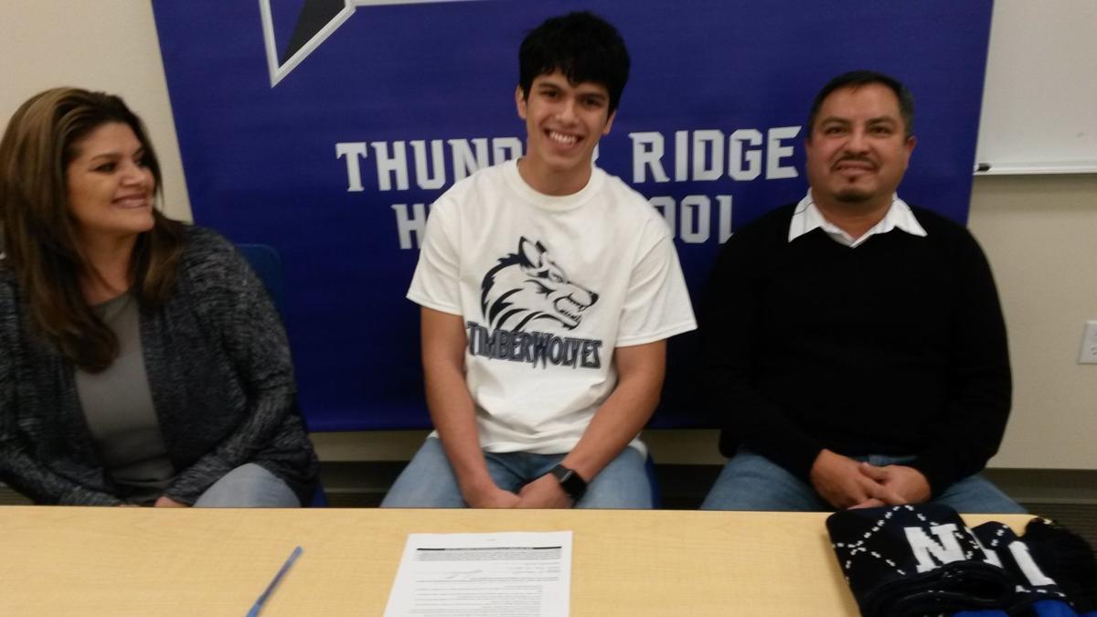 Fabian Sandoval becomes first Thunder Ridge soccer signee