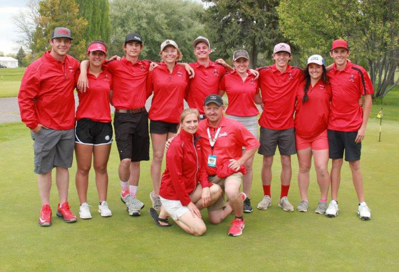 chs golf team, state