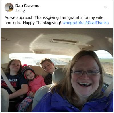 Dan Cravens family