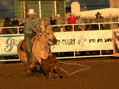 Roping on