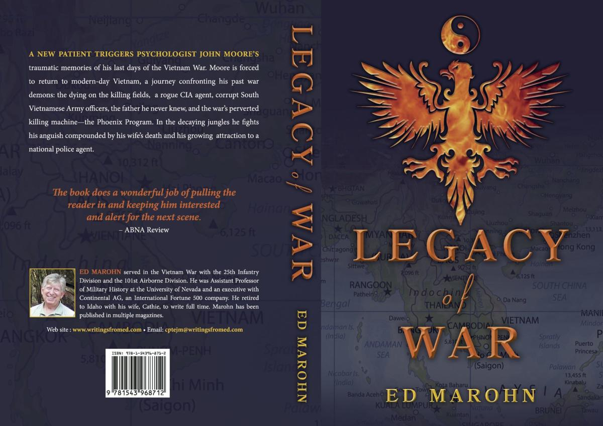Legacy of War, cover and back