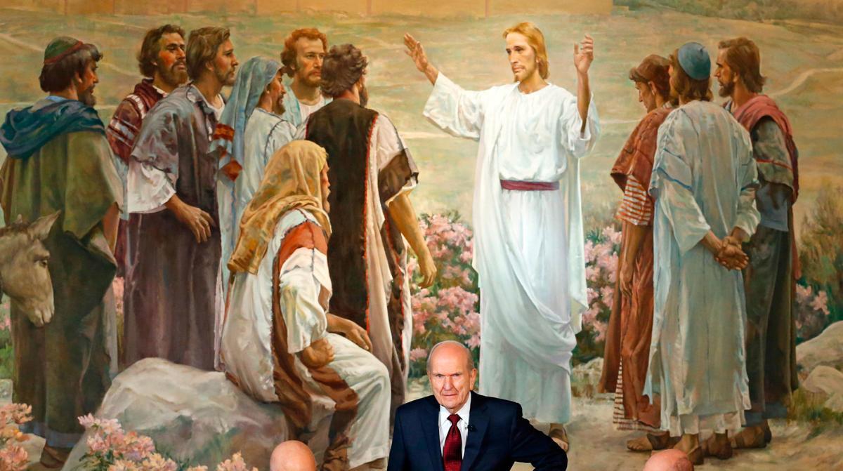 Church president: Use 'Latter-day Saints' not 'Mormon'